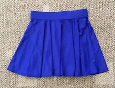 DKNY Swim Womens Size Small Electric Blue Swim Skirt Cover Up D40600