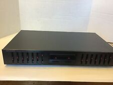 Kenwood 7 Band Graphic Equalizer Model Ge-291 Very Clean Tested With Manual.