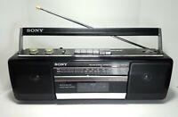 Sony CFS-210 AM/FM Cassette Player Boombox - Parts / Repair - Broken Tape Deck