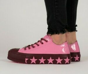 Converse Size 4 (36) Pink Miley Cyrus New With Box