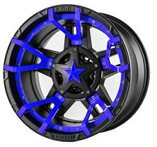 18 Inch Black Blue Wheels Rims Ford F150 Expedition Truck 6x135 XD Series XD827