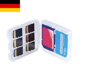 Speicherkarten Hülle 2 in 1 SD MSPD microSD Aufbewahrung Box Etui Hartschale