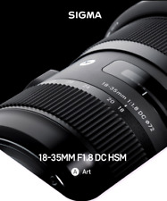 SIGMA 18-35mm F1.8 DC HSM | A, US Version with warranty