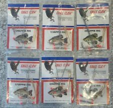 Eagle Claw Crappie Rigs 6 Packs