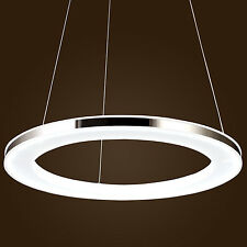 Modern Design LED Ring Pendant Light Dining Study Room Office Chandelier Lamp