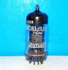 12AT7 ECC81 Mullard radio audio amplifier Tk3 B6K1 Britain vacuum tube valve
