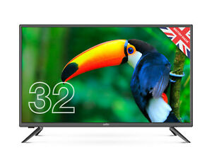 """CELLO 32"""" INCH LED TV FREEVIEW HD, 3 x HDMI, USB VGA & SCART. EASY SET UP & USE"""