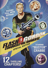 Flash Gordon Conquers the Universe (DVD, 2015, 2-Disc Set) Buster Crabbe