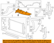 Buick GM OEM 13-17 Verano 2.4L-L4 Radiator-Upper Baffle 22872263