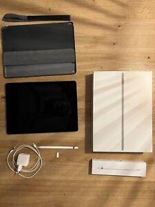 Apple iPad Pro 1. Gen 128GB, Wi-Fi + 4G 12,9 - Space Grau + Pencil