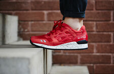 Asics Gel Lyte III Men's Running Shoes Size 11 Sneakers H5Y0N No Seam Pack Red