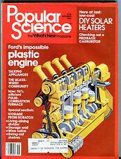 Popular Science Magazine September 1982 Ford's Plastic Engine EX 032416jhe