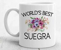 Suegra Gifts For Suegra Mug Best Suegra Gift For Mother In Law Mug Suegra Coffee