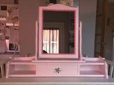 Pine Frame Decorative Mirrors with Shelf