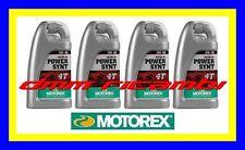 4 Litri Olio Motore 4 tempi MOTOREX Power Synt 4T 10W60 100% Sintetico