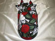Harley Toms Skull & Rose Scuba Diving Doo Rag Headwrap Do Rag  Skullcap Bandana