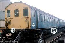 British Rail 2epb 5917 damaged trailer stewarts lane Rail Photo