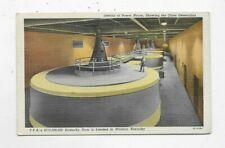 Vintage Linen Postcard Interior Of Powerhouse Generators TVA Kentucky Dam R1229