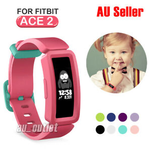 For FITBIT ACE 2 Replacement Silicone Band Strap Bracelet Wristband Kids sport