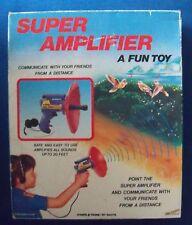 vintage 1986 SUPER AMPLIFIER Toy No.00052 by NASTA in Original Box HTF Rare