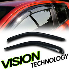 For 05-11 Dodge Dakota Club Cab Rain/Wind Guard Shade Deflector Window Visor 2P