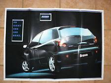Fiat Brava Bravo HGT - POSTER Prospekt Brochure 1995