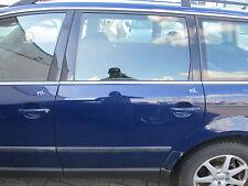 Tür hinten links VW Passat 3BG Variant maritimblau LA5E blau