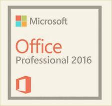 Microsoft Office Professional Plus 2016 DVD Brand New Genuine 1 PC user
