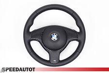 LENKRAD Glates Lederlenkrad BMW E46 E39 X5 M Lenkrad mit Blende und Airbag