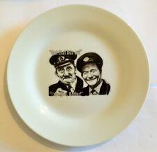ON THE BUSES Inspector Blakey & Stan Butler TEA PLATE Stephen Lewis, Reg Varney