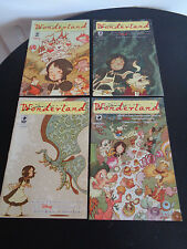 WONDERLAND Comic Book Lot 1 2 3 4 DISNEY Inspired By Lewis Carroll 2006