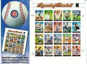 Scott 3408 33¢ Legends of Baseball MNH Free shipping in USA!