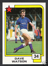 PANINI CALCIO CARD - 1988 SUPERSTARS CALCIO-N. 34-Dave Watson-EVERTON