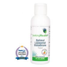 Optimal Liposomal Glutathione (NEW Tropical flavour) - 4 oz - Seeking Health