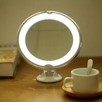 10x loupe LED composent aspiration cosmétique illuminée ronde lumière miroir G