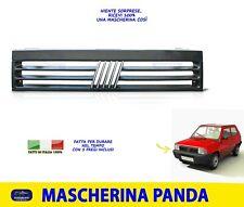 Griglia Mascherina Fiat Panda 4x4 Sisley Country Club Anteriore per kit fregi da