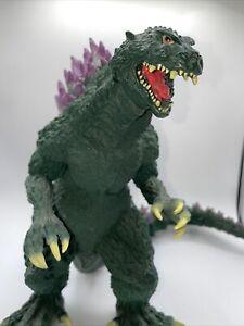 "2000 Banpresto Godzilla Large Soft Vinyl Millennium Figure 30cm 12"" GREEN"