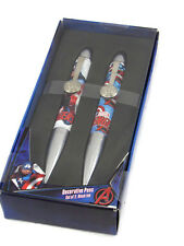 Marvel Avenger Decorative Pens Set of 2 Black Ink New