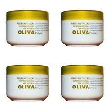 4 X250 ml Deliplus Spaanse Olijfolie Oliva Hydraterende verzorging f. droge huid