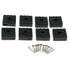 8pcs Furniture Leg Riser Pads Chair Table Cabinet Rubber Bumper Feet Pads 3x3cm