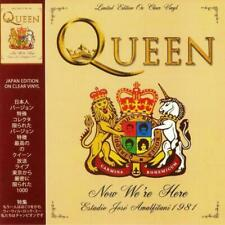 QUEEN - NOW WE`RE HERE - ESTADIO JOSE AMALFITANI 1981 - CLEAR VINYL LIMITED -NEW