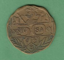 1864-1914 Knights of Pythias Golden Jubilee Medallion
