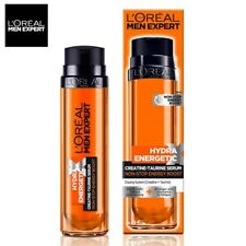 L'oreal Mens Hydra Energtic Skin Care Boosting Day Night Moisturizing Face Serum