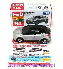 Japan TAKARA TOMY Tomica 94 Toyota C-HR Silver 4904810101734 *FREE SHIPPING USA