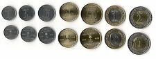 Saudi Arabia 2016 Coins 1 2 Riyals 50 25 10 5 1 HALALAS UNC Complete Set of 7