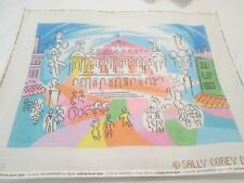 Paris Opera-Sally Corey-Handpainted Needlepoint Canvas