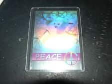 Ty Beanie Baby Retired Peace Card Series 2 Bboc cards # 1243/8888 Green