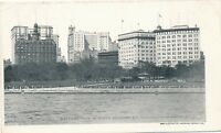 NEW YORK CITY – Battery Park and Lower Broadway Private Mailing Card