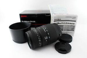 SIGMA 70-300mm F4.5.6 DG MACRO SIGMA