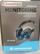 Sennheiser HD 280 PRO Closed-Black Headphones + *BONUS* READ DESCRIPTION!